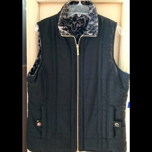 Jones New York Reversible Vest